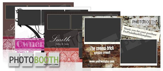 New Photo Booth Template Design Shop For Photo Booth Owners - Photo booth design templates