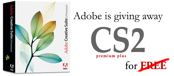 Updated: Adobe CS2 For Free