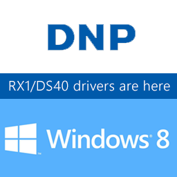 official DNP DS40 windows 8 drivers