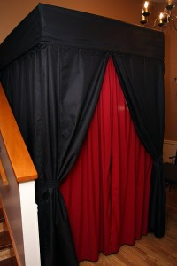 photo booth curtains
