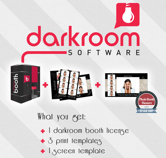 Photo booth owners giveaway Darkroom Booth