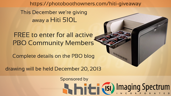 Hiti 510L Printer Giveaway