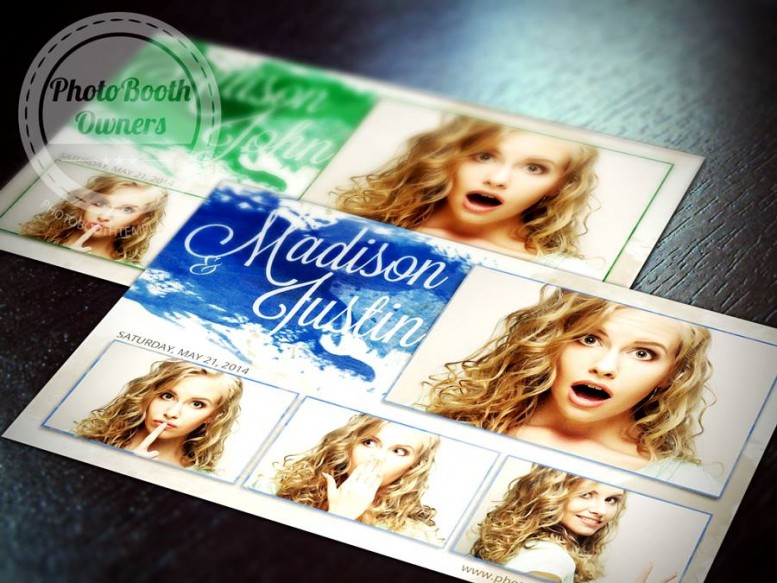 Photo booth templates samples