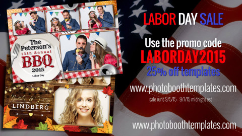 Labor Day Sales 25% Off All Templates