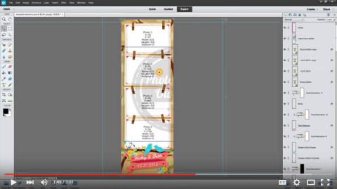How to create a single strip from a strips set
