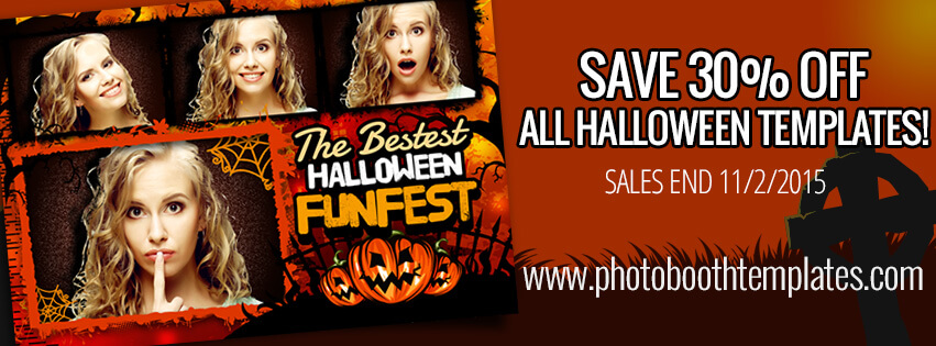 30% Off Halloween Templates